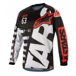 Alpinestars Racer Shirt Braap Black-White-Red 2018
