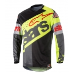 Alpinestars Racer Jersey Flagship Fluo Yellow-Black-Anthracite Holiday Release 2018 L # SALE