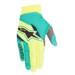 Alpinestars Aviator Handschuhe Fluo Yellow-Teal Holiday Release 2018
