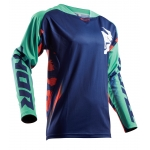 Thor Fuse™ Jersey Rampant Navy-Teal-Orange 2018 # SALE
