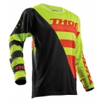 Thor Fuse Air™ Jersey Rive Lime-Orange 2018 # SALE