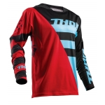 Thor Fuse Air™ Jersey Rive Red-Blue 2018 # SALE