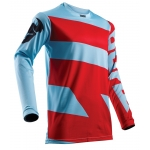Thor Pulse™ Jersey Level Powder Blue-Red 2018 M # SALE