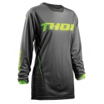 Thor Women's Pulse™ Jersey Dashe Gray-Lime Ladies 2018 XS - Ladies 32 # SALE