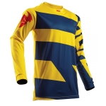Thor Youth Pulse™ Shirt Level Navy-Yellow Kids 2018 # SALE