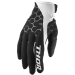Thor Draft Gloves Indi Black-White 2018-2019
