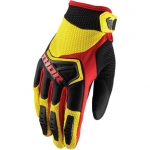 Thor Youth Spectrum Gloves Yellow-Black-Red Kids 2018-2019 # SALE