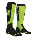Thor Youth MX Socken Black-Lime Kids 2018
