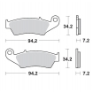 Moto-Master Brake Pads 21 Compound Beta front