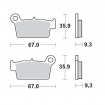 Moto-Master Brake Pads 21 Nitro Compound Yamaha rear