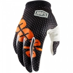 100% I-Track Gloves Charcoal 2018 9 - M # SALE