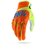 100% Airmatic Handschuhe Orange Kids 2017