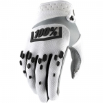100% Airmatic Handschuhe White-Black 2018