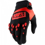 100% Airmatic Handschuhe Black-Red 2018
