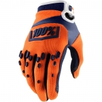 100% Airmatic Handschuhe Orange-Navy 2018