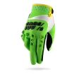 100% Airmatic Gloves Green Kids