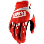 100% Airmatic Handschuhe Red-White 2018