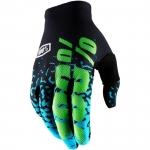 100% Celium 2 Handschuhe Flash Black-Cyan 2018