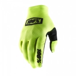 100% Celium 2 Handschuhe Fluo Yellow-Black 2019