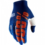 100% Celium 2 Handschuhe Flash Navy-Orange 2018