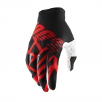 100% Celium 2 Handschuhe Black-Red-White 2019