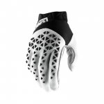 100% Airmatic Handschuhe Black-White-Silver 2019