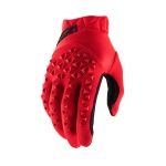 100% Youth Airmatic Gloves Red-Black Kids 2021