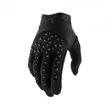 100% Airmatic Gloves Black-Charcoal 2019