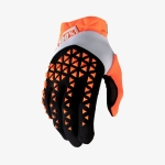100% Airmatic Gloves Orange-Black 2020