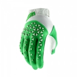 100% Airmatic Gloves Silver-Fluo Lime 2019
