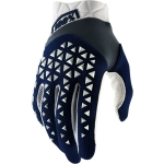 100% Airmatic Gloves Navy-Steele-White 2021