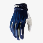 100% RideFit Gloves Navy 2020