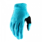 100% RideFit Handschuhe Ice Blue-Black 2019