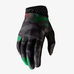 100% RideFit Gloves Black Camo 2020