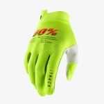 100% I-Track Gloves Fluo Yellow 2021
