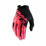 100% I-Track Handschuhe Black-Fluo Red 2019