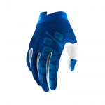 100% I-Track Gloves Blue-Navy 2019