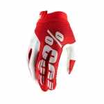 100% I-Track Handschuhe Red-White 2019