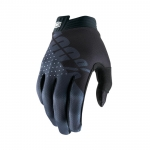 100% I-Track Gloves Black-Charcoal 2019