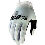 100% I-Track Gloves White Camo 2020