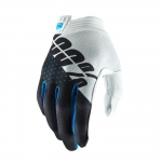 100% I-Track Handschuhe White-Steel Grey 2019