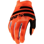 100% Youth I-Track Gloves Orange-Black Kids 2020