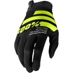 100% I-Track Gloves Black-Fluo Yellow 2020