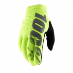 100% Brisker Gloves Fluo Yellow Thermo-Gloves 2019