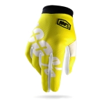 100% I-Track Gloves Neon Yellow Kids 2014