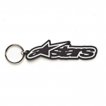 Alpinestars Rub Key Ring Keychain Black-White