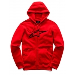 Alpinestars Ageless Zip-Hoody Red 2018