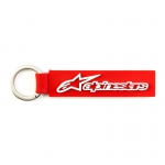 Alpinestars Horizontal Key Ring Keyfob Red-White