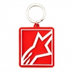 Alpinestars Corb Shift Key Ring Keyfob Red-White