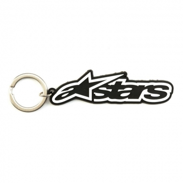 Alpinestars Blaze Key Ring Keyfob Black-White